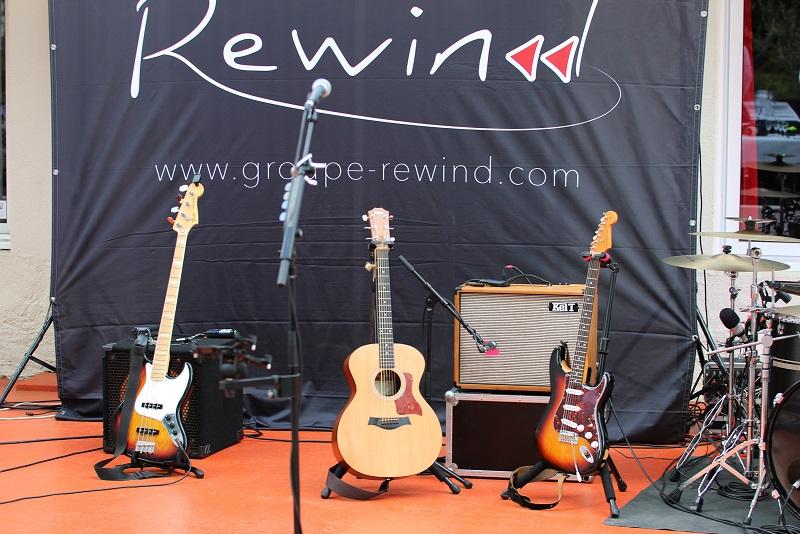 01-07-21 Dîner concert avec le groupe REWIND à la Terrasse du Stade N°1 Pica