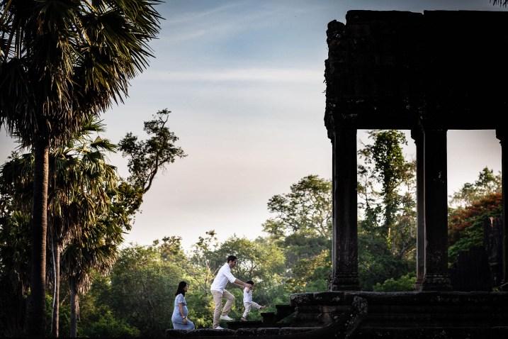 Family Photo Cambodia