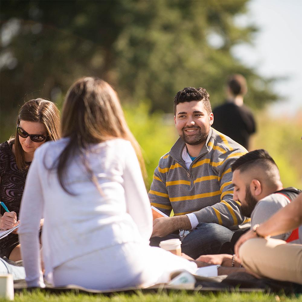 Students in a feild - Jesuit Education