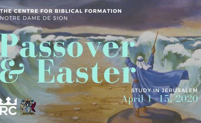Passover Easter 2020 Regis College