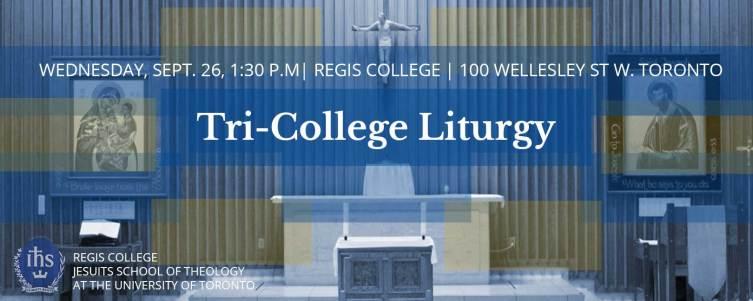Knox College Academic Calendar.Tst Tri College Liturgy Regis College