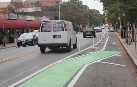 New Bike Lanes on Cambridge Street Spur Mixed Reactions