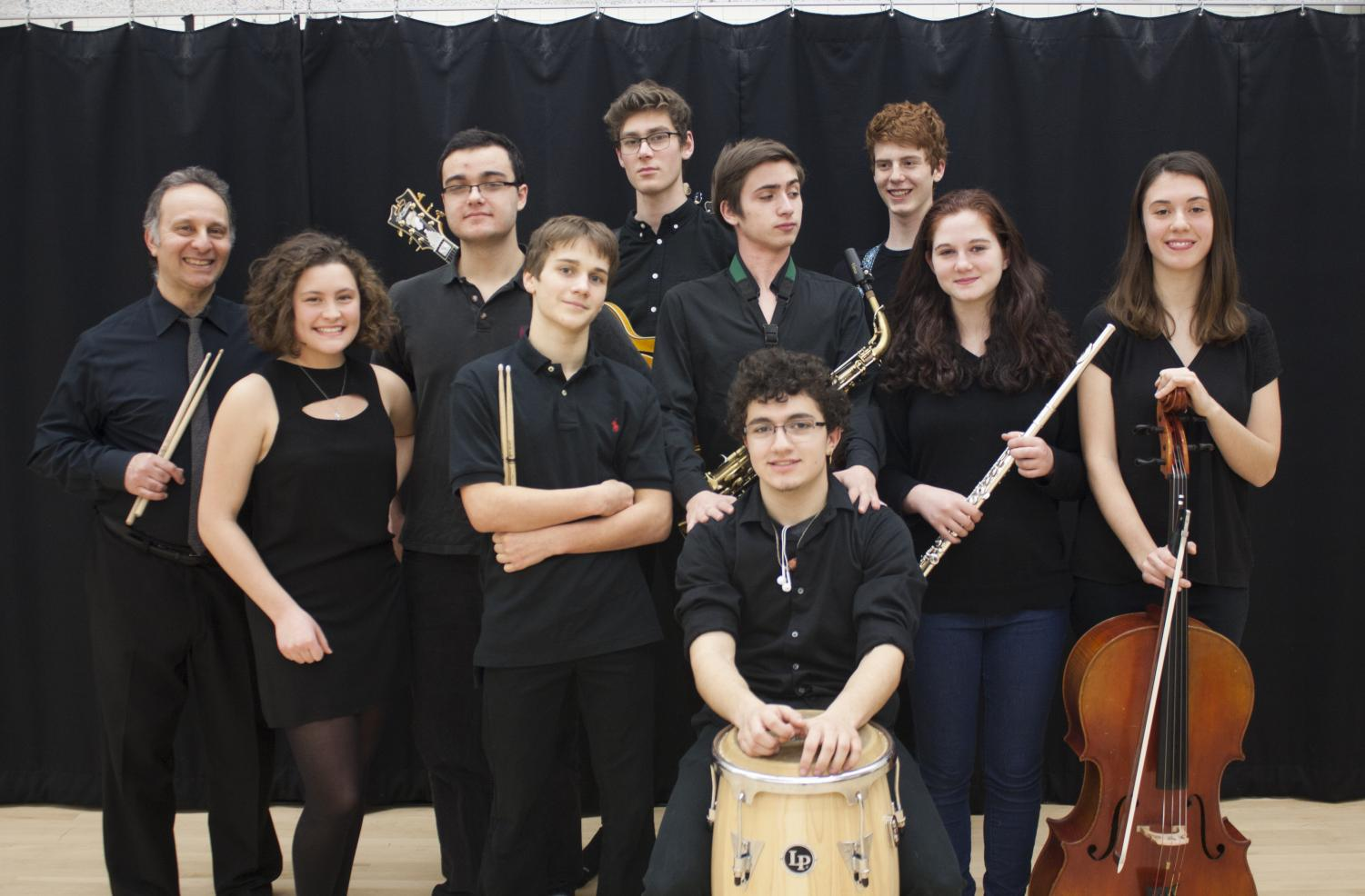Six members of the CRLS World Jazz Ensemble took classes at Berklee over the summer.