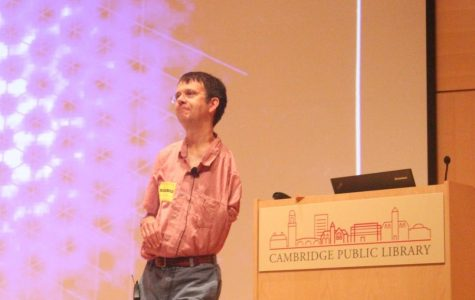 Nobel Laureate Eric Cornell Speaks to CRLS Students