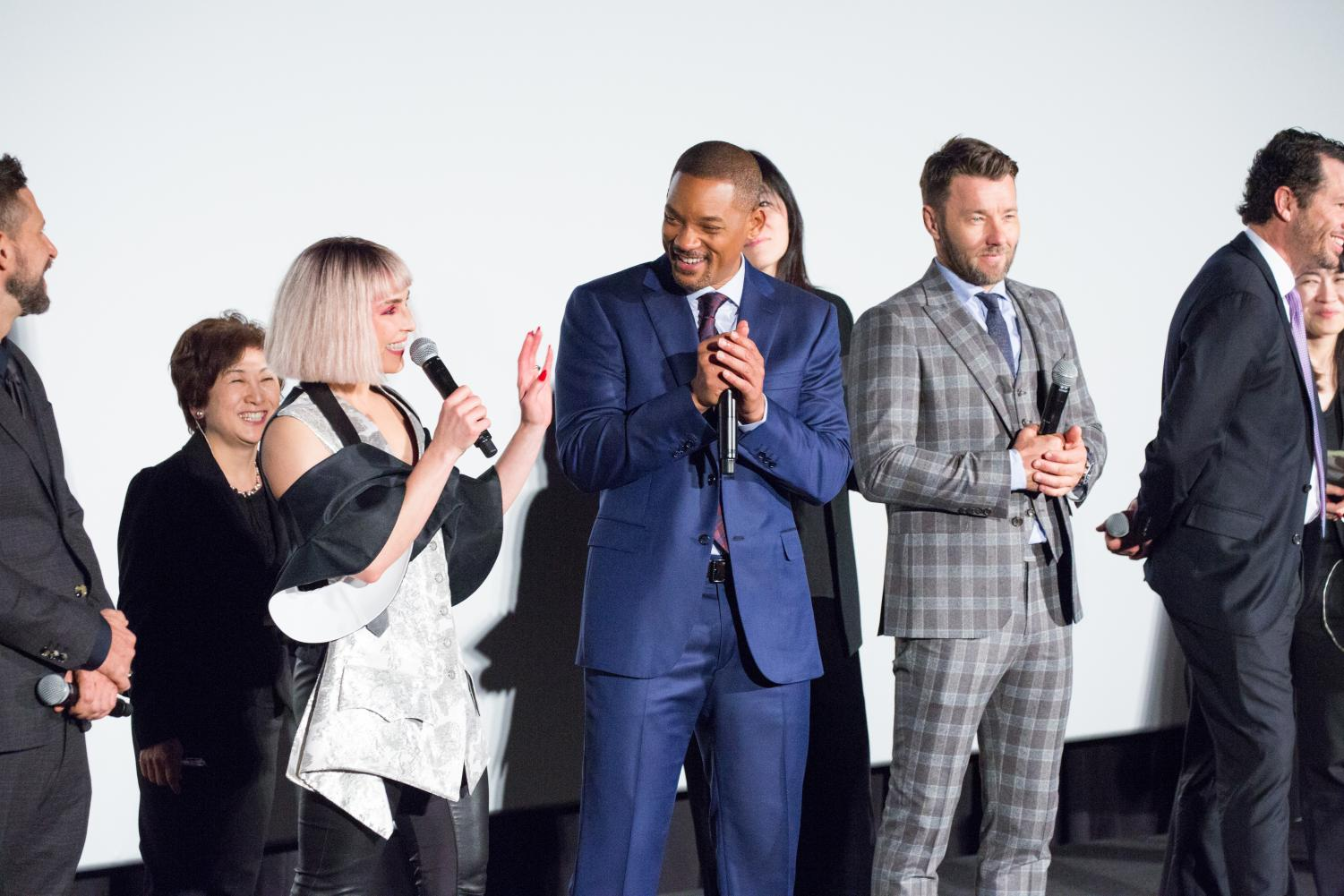 Bright, one of the latest Netflix projects, stars Will Smith and Joel Edgerton.