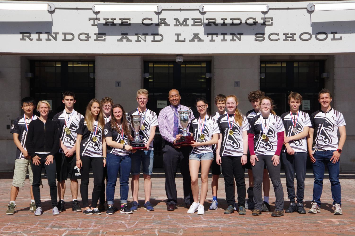 Eight Rindge students from the orienteering team placed nationally in the U.S. Junior National Championships this April.