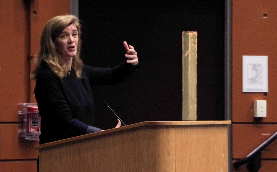 Samantha Power Speaks to CRLS Students May 1st