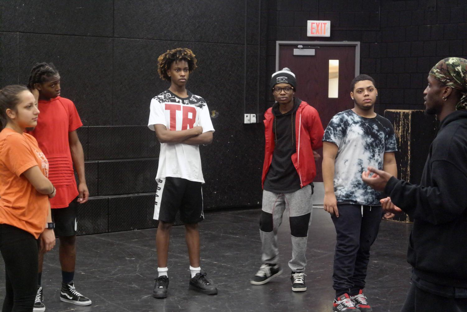 Students in the production have been rehearsing multiple days a week.
