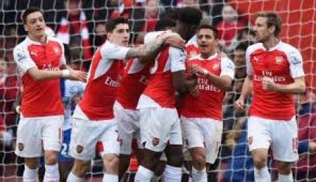 Arsenal Semakin Cemerlang, Usai Kalahkan 3-1 atas Stoke