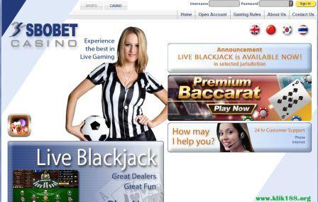 Cara Daftar Casino Sbobet