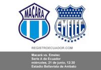 Macará vs Emelec EN VIVO 21 de junio 2017 PARTIDO