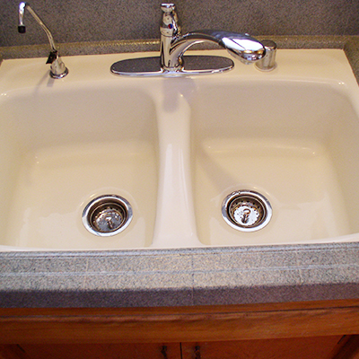 reglaze kitchen sink large white island affordable reglazing folsom california we can guarantee you be impressed how much will enhance the look of your bathrooms and
