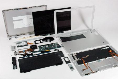 MacBook Air internals - image courtesy ifixit.com