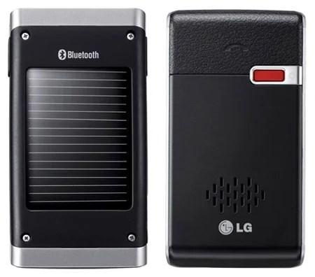 LG HFB-500 solar Bluetooth car kit