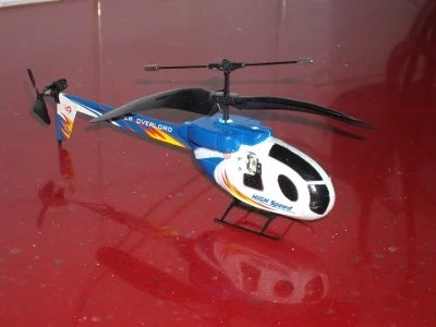 Infra Red Remote Controlled Helicopter (c) The Register