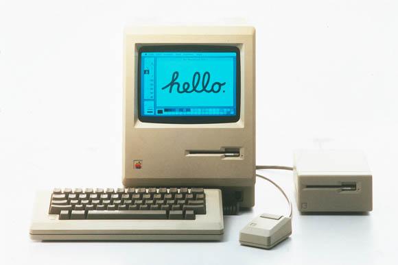 Apple's original Macintosh