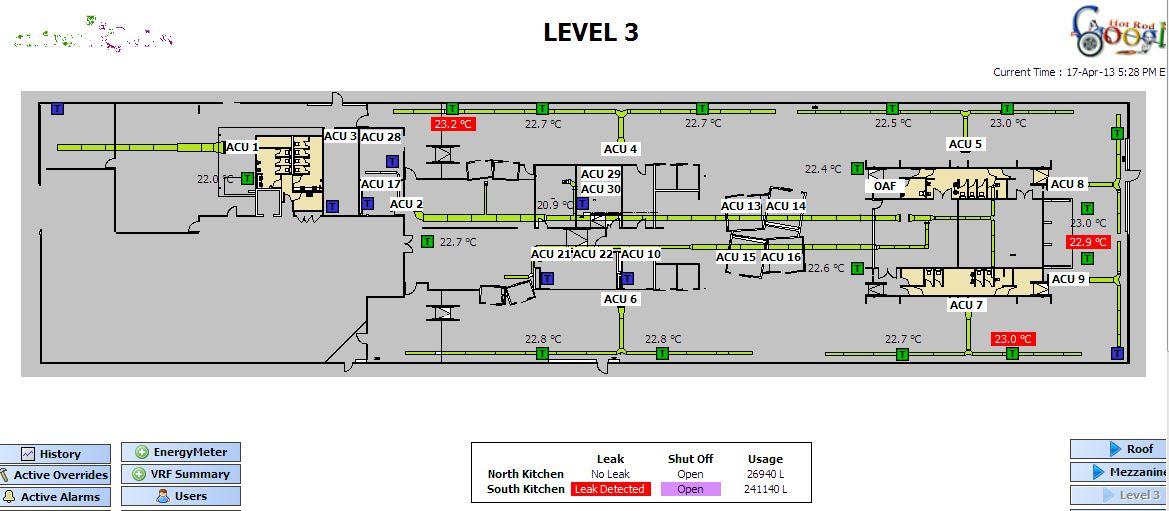 Google's Level 3, Wharf 7 layout