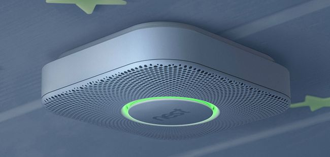kitchen smoke detector counter lights google s nest can t stand the heat needs patch for use in protect
