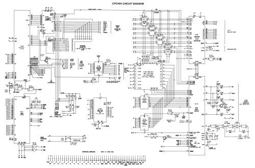 small resolution of amstrad cpc 464 schematic