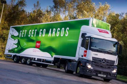Argos lorry, photo: Argos