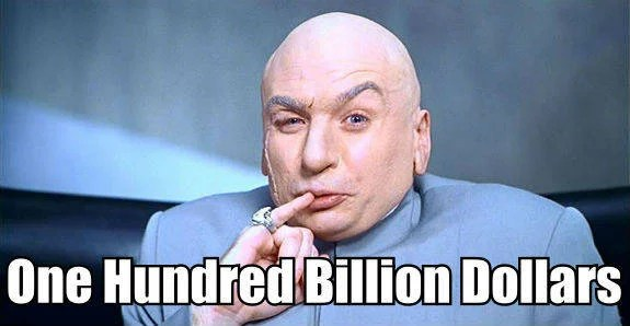 1 Million Dollars Dr Evil
