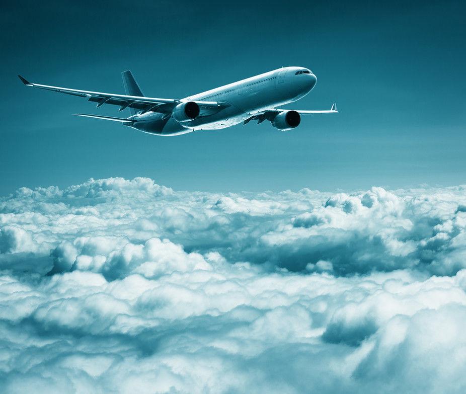 Image result for jet plane descending below the clouds
