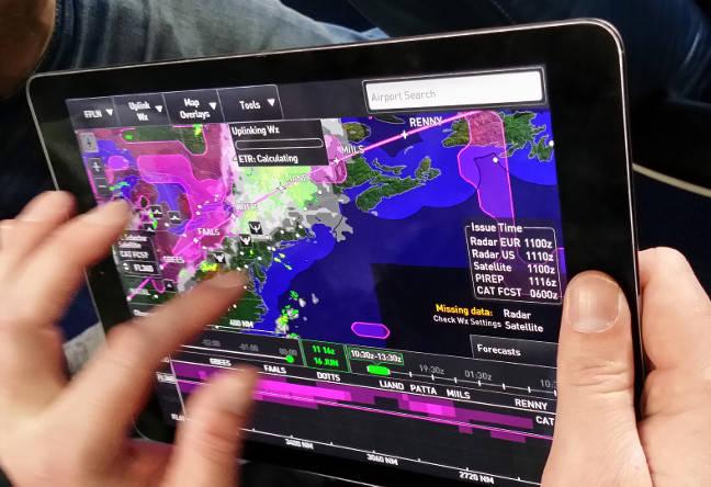 Honeywell's GoDirect Flight Services app