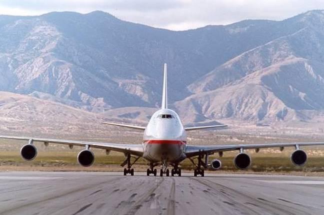 oldest flying 747 finally