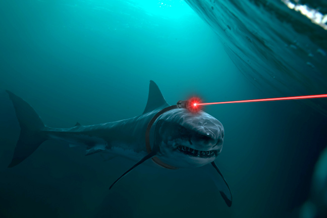 giant frikkin british laser