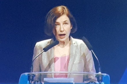 Florence Parly, France's Defence Secretary