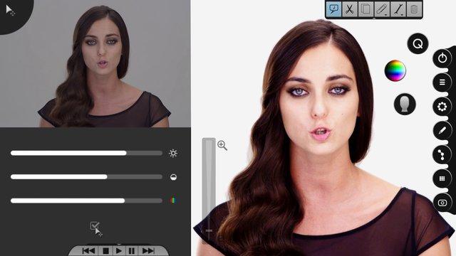 """Clipe feito com """"Photoshop""""em tempo real"""