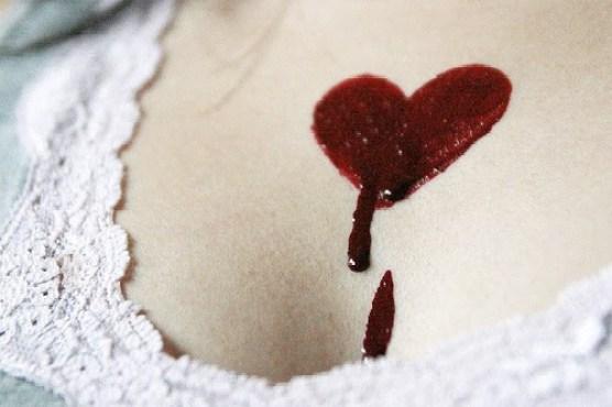 coração sangrando