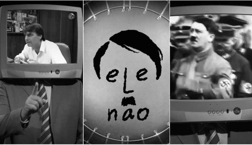 Bolsonaro não se alistou ao exército de Hitler, mas foi vítima do seu próprio veneno [de novo]