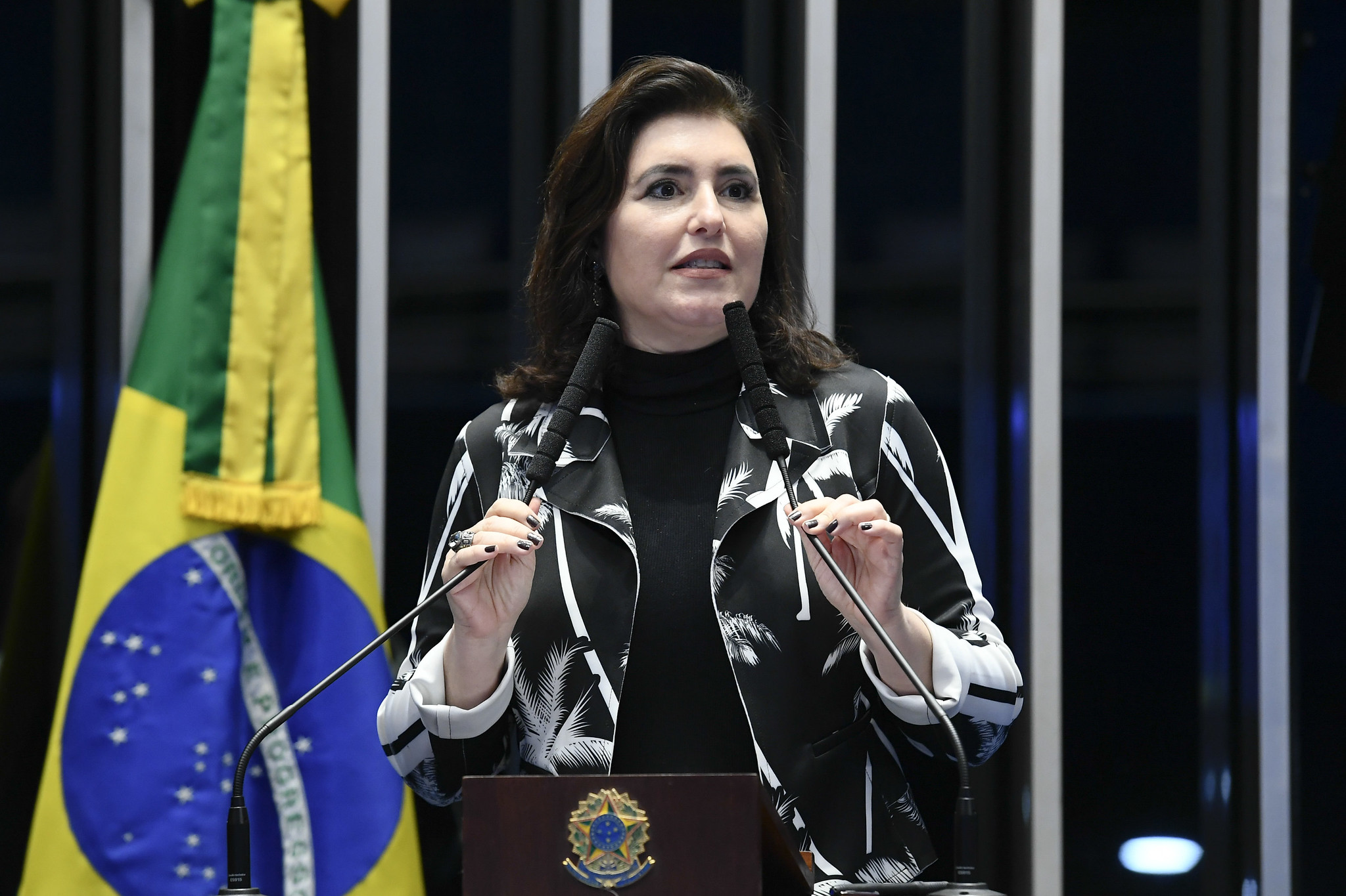 MDB OFICIALIZA A CANDIDATURA DE SIMONE TEBET PARA O SENADO