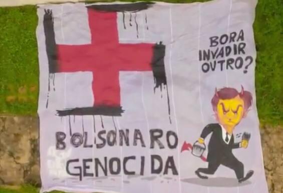 MANIFESTANTES CONTRÁRIOS A BOLSONARO SÃO PRESOS EM BRASÍLIA E ENQUADRADOS EM LEI DE SEGURANÇA NACIONAL