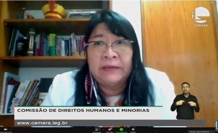 COMISSÃO DE DIREITOS HUMANOS DA CÂMARA DEBATE IMUNIZAÇÃO DE POVOS INDÍGENAS