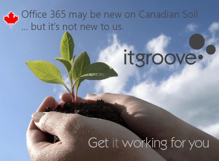 Office 365 New to Canada