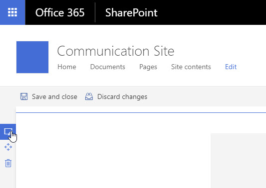 SharePoint Communication Site - Column Settings