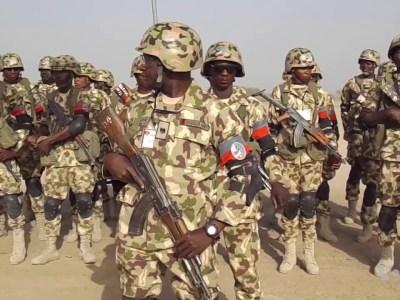 African soldier test voodoo power