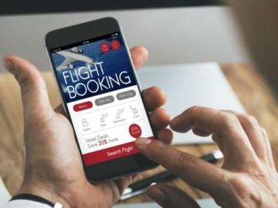 booking-flight-online via mobile
