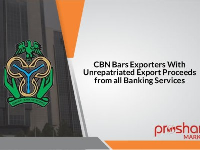 CBN to bar exporters with unrepatriated export proceeds from banking services