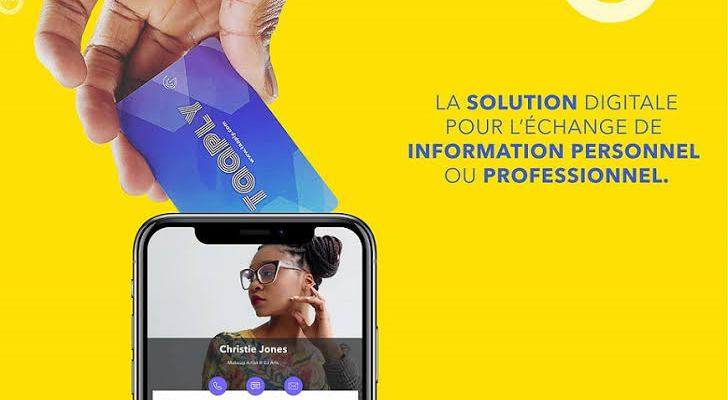 Cameroonian startup launches to digitise business cards