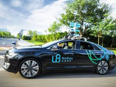Chinese driverless car start up WeRide raises 310 million in funding as competition heats up