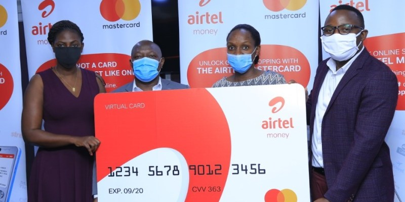 Uganda Airtel Money Virtual MasterCard for Online Transactions