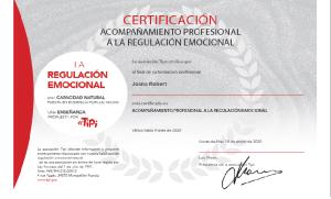 Foto Diploma TIPI de Joana Robert
