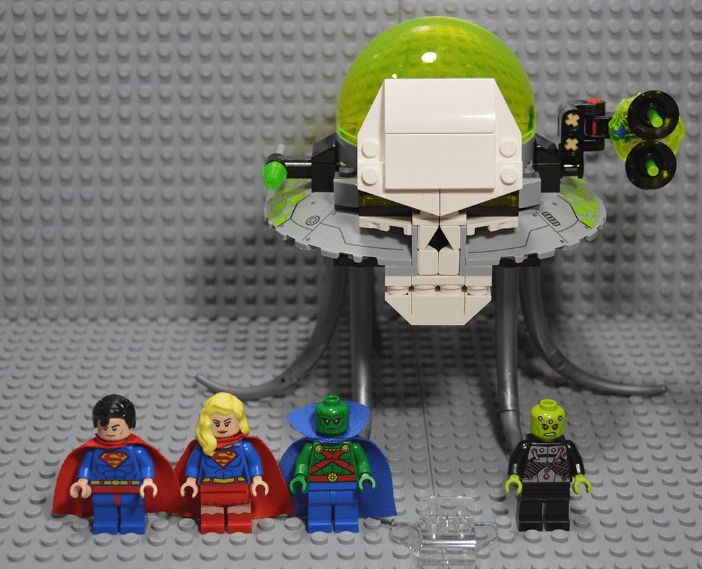 Lego Batman 2015 Brainiac Attack