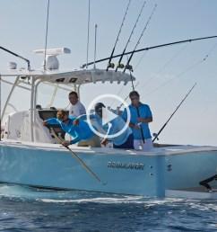 regulator boats 34 lifestyle video [ 1280 x 640 Pixel ]