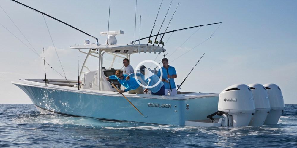 medium resolution of regulator boats 34 lifestyle video