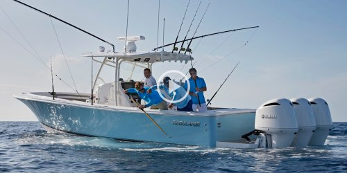 small resolution of regulator boats 34 lifestyle video