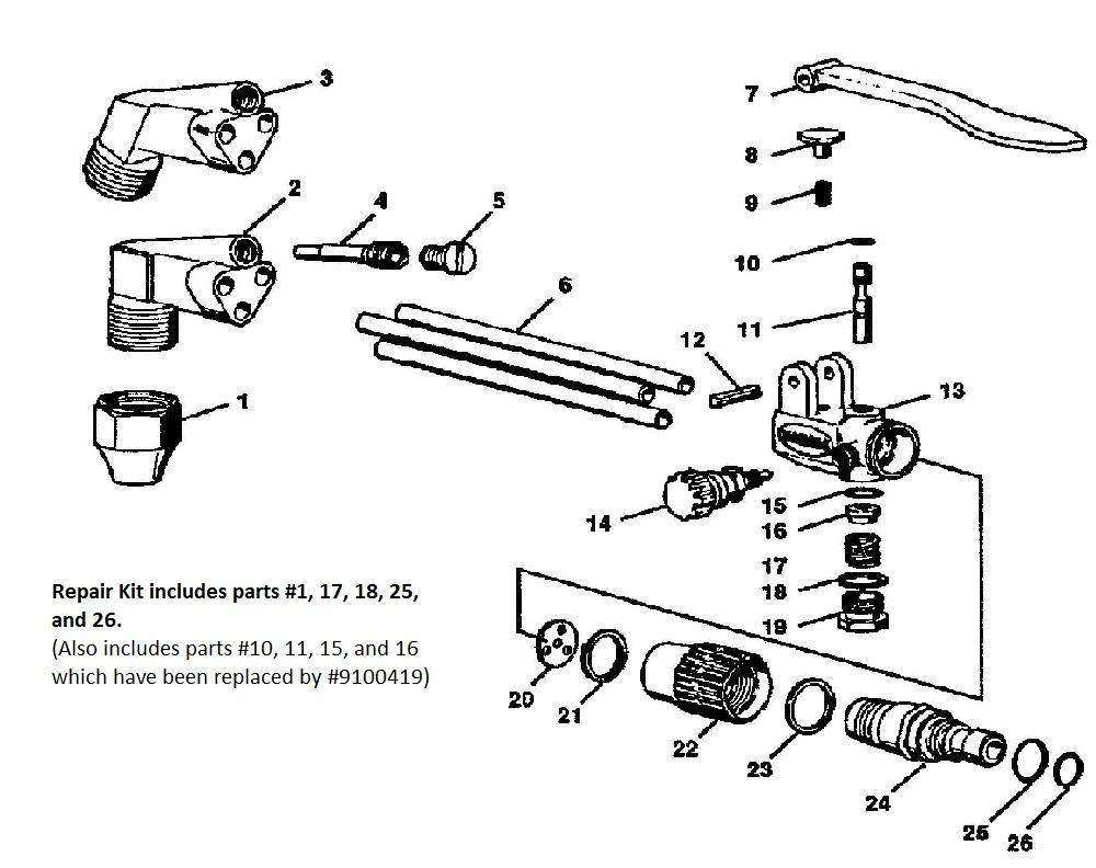 Harris 72-3 Repair Kit